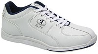 Elite Mens Atlas White/Blue Bowling Shoes