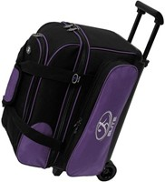 Elite Deuce 2 Ball Roller Purple/Black Bowling Bags