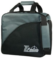 Brunswick Target Zone Single Charcoal/Black Bowling Bags