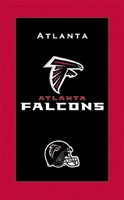 KR NFL Towel Atlanta Falcons