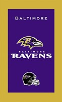 KR NFL Towel Baltimore Ravens