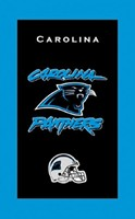 KR NFL Towel Carolina Panthers