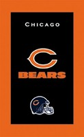 KR NFL Towel Chicago Bears