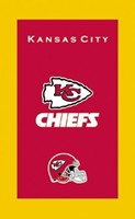 KR NFL Towel Kansas City Chiefs