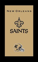 KR NFL Towel New Orleans Saints