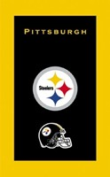 KR NFL Towel Pittsburgh Steelers