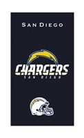 KR NFL Towel San Diego Chargers