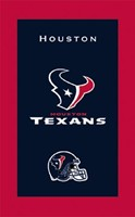 KR NFL Towel Houston Texans