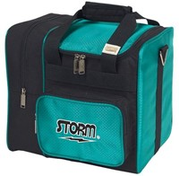 Storm 1 Ball Deluxe Tote Teal/Black Bowling Bags