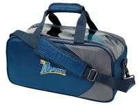 Track Premium Player 2 Ball Tote Blue/Grey Bowling Bags