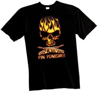 Exclusive bowling.com Pin Punisher T-Shirt