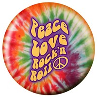 OnTheBallBowling Peace, Love, Rock 'n Roll Bowling Balls