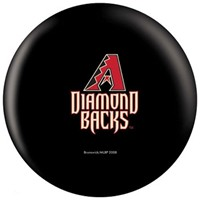 OnTheBallBowling MLB Arizona Diamondbacks Bowling Balls