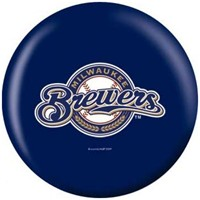 OnTheBallBowling MLB Milwaukee Brewers Bowling Balls