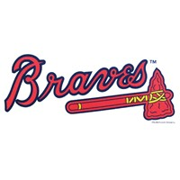 Master MLB Atlanta Braves Towel