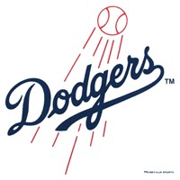 Master MLB Los Angeles Dodgers Towel