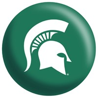 OnTheBallBowling Michigan State Spartans (Old) Bowling Balls