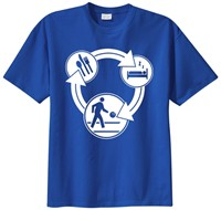 Exclusive bowling.com Eat, Sleep, Bowl T-Shirt