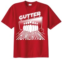 Exclusive bowling.com Gutter Humiliation T-Shirt