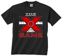 Exclusive bowling.com Original X Game TShirt Black