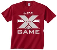 Exclusive bowling.com Original X Game TShirt Red