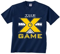 Exclusive bowling.com Original X Game TShirt Navy