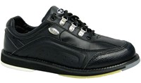 Elite Mens Platinum Black Right Hand Bowling Shoes