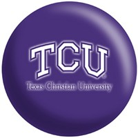 OnTheBallBowling Texas Christian University Horned Frogs Bowling Balls