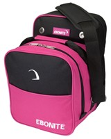 Ebonite Compact Single Black/Pink Bowling Bags