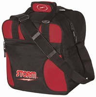 Storm Solo Single Tote Black/Red Bowling Bags