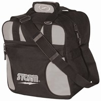 Storm Solo Single Tote Black/Silver Bowling Bags