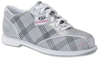 Dexter Womens Ana Silver/Pink Plaid Bowling Shoes