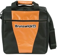 Brunswick Gear III Single Tote Orange Bowling Bags