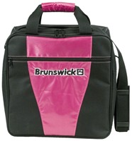 Brunswick Gear III Single Tote Pink Bowling Bags