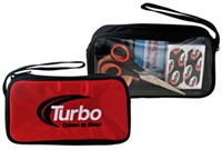 Turbo Driven to Bowl Mini Accessory Case Red Bowling Bags