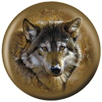OnTheBallBowling Nature Timber Wolf Bowling Balls