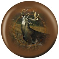 OnTheBallBowling Nature White Tailed Stag Bowling Balls