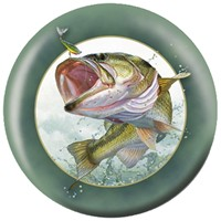 OnTheBallBowling Nature Largemouth Bass Bowling Balls