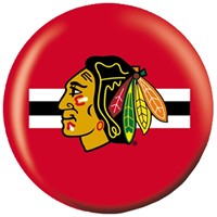 OnTheBallBowling NHL Chicago Blackhawks Bowling Balls