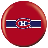 OnTheBallBowling NHL Montreal Canadiens Bowling Balls