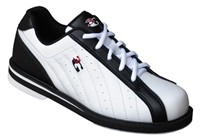 3G Kicks Unisex Black/White Bowling Shoes