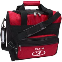 Elite Impression Single Tote Red/Black Bowling Bags