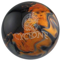 Ebonite Cyclone Black/Gold/Silver Bowling Balls