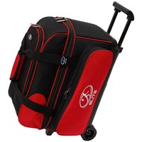 Elite Deuce 2 Ball Roller Red/Black Bowling Bags