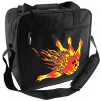 Classic Flame Single Tote Bowling Bags