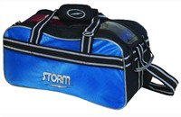 Storm 2 Ball Tote Blue/Blk Bowling Bags