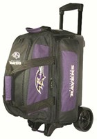 KR Strikeforce NFL 2 Ball Roller Baltimore Ravens Bowling Bags