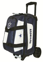KR NFL 2 Ball Roller Dallas Cowboys Bowling Bags