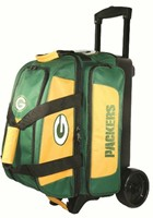 KR Strikeforce NFL 2 Ball Roller Green Bay Packers Bowling Bags