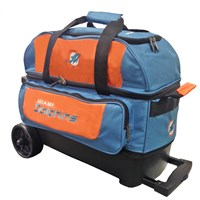 KR Strikeforce NFL 2 Ball Roller Miami Dolphins Bowling Bags